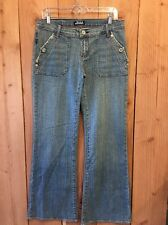 "Rock & Republic Siouxsie Siosm Flare Size 29 (32"" Inseam) Women's Jeans"