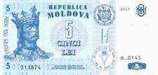MOLDOVA,2013.5 LEI,UNC BANKNOTES..(AV)