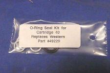Western  49229,Western Snow Plow # 40 Cartridge Valve Seal Kit,NEW