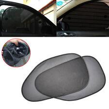 2x Car Side Rear Window Mesh Cover Shield Sun Visor Shade Sunshade UV Protector