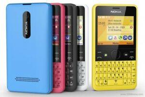 Nokia Asha 210 - (Unlocked) Mobile Phone Watsapp Facebook Qwerty phone or BOXED