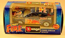 "Bburago B Burago 1/43 Diecast Model ""made in Italy"" Cod 41503 Ford Focus Rally"