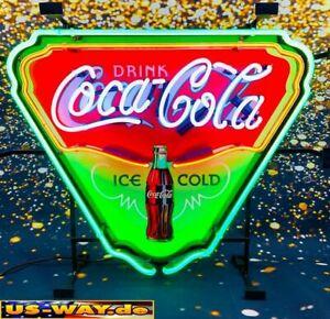 "N-0112 Neon ""Coca Cola"" Schild Leuchtreklame USA Diner Neonreklame Vintage Retro"