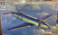 Trumpeter 1/48 British Supermarine Attacker F.1 Fighter, New