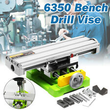 Compound Cross Slide Working Table Worktable Bench Drill Milling Machine Vise