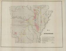 "1850 US General Land Office ""ARKANSAS"""