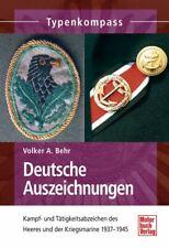 Volker A. Behr Deutsche Auszeichnungen