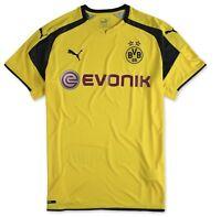 Puma Herren Trikot BVB international Borussia Dortmund Shirt Schwarz Kurzarm XL