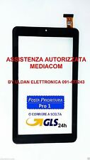 TOUCH SCREEN MEDIACOM 745GO SMARTPAD M-MP745GON NERO VETRO TABLET ORIGINALE