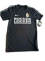 Nike DRY  Dry Fit Mens Adult Small Soccer Jersy Black  number 6