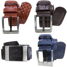 ea24c70d1e5cfe Rock Creek Herren Designer Ledergürtel Accessoire Echt Leder Gürtel M38