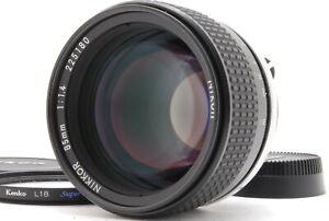 MINT/ NIKON Ai-s 85mm F1.4 MF Lens from Japan #1469