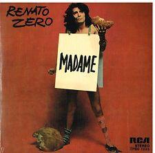 """Renato Zero: Madame / Un Uomo Da Bruciare  Vinile Rosso 7"""" Record Store Day 2017"""