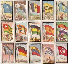 SET BREAK 1963 Topps Midgee Flags~ PICK ONE CARD/MORE NO CREASES NICE