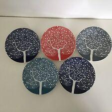 Royal Doulton. Five Fable Pattern Ceramic Side Plates. 16 cm #402