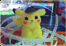 "Pokemon Center Detective Pikachu Plush Doll Stuffed Toy  Gift 11"" Doll"