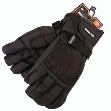 Mount Tec Men's Ski Gloves Drypel Waterproof Membrane Leather Fingers Small