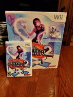 Nintendo Wii Dance Dance Revolution Hottest Party 2 Konami with Game & Mat Pad