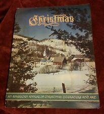 009 1955 Christmas Annual of American Literature & Art MAgazine Catalog