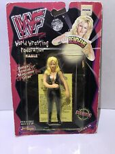 "New! 1998 Just Toys Bendems Series #9 ""Sable"" Action Figure WWF {399}"