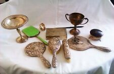 Job Lot Of Solid Silver Items Selling As Scrap   1808 Grams