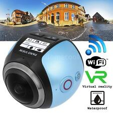 WiFi ULTRA HD 360° 3D VR Panoramic Action Camera Digital Video Camcorder US S2Y9