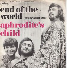 7inch APHRODITE'S CHILD	end of the world	HOLLAND 1969 EX (S2633)