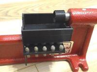 NEW Brass case shavings brassket catcher, for the Hornady LNL Cam-lock trimmer.