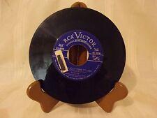 45 RECORD - RCA VICTOR - CHILDREN'S BLUEBIRD RECORDS - JINGLE BELLS- PERRY COMO