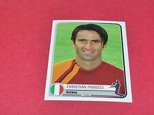 338 CHRISTIAN PANUCCI A.S ROMA UEFA PANINI FOOTBALL CHAMPIONS LEAGUE 2005/2006