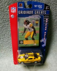 Pittsburgh Steelers Gridiron Greats Troy Polamalu Card + Mustang GT Limited
