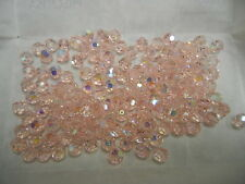 full package,144 new preciosa round crystal beads,7mm light rose AB