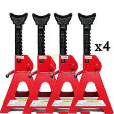 4x 3 TON AXLE STANDS LIFTING CAPACITY STAND HEAVY DUTY CAR CARAVAN FLOOR JACK