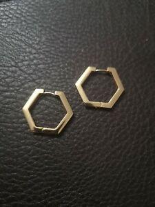 New Vintage hoop geometric gold women earrings