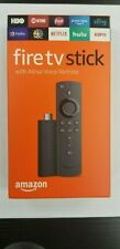 Amazon Fire Stick HD 2019 w/ new gen Alexa Remote, UNALTERED! FACTORY SEALED!