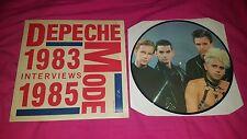 RARE PICTURE DISC / DEPECHE MODE / 1983 1985
