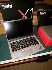 Lenovo Thinkpad X1 Carbon 5th Gen,i7-7600U 16GB RAM,512GB SSD Onsite Warr Silver