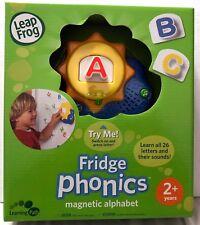 NIB Leap Frog Fridge Phonics Sun Magnetic Alphabet 26 Letters Sing Along Musical
