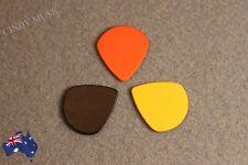 3PCS Guitar Picks Bulk Coloured Celluloid Plectrums Standard Mixed Gauges NEW