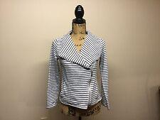 Women's Calvin Klein Black&Gray Striped Performance Quick Dry Size S