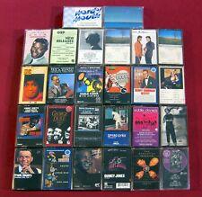 26 Jazz Cassette LOT Lonnie Liston JIMMY SMITH Charlie Parker SPYRO GYRA + more