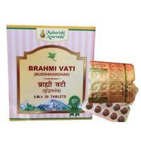 Pack Of 2  Maharishi Ayurveda Brahmi Vati 100 Tablet Free Shipping