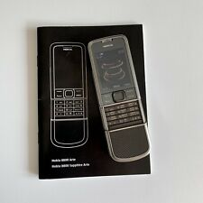 Nokia 8800 Carbon Arte 4GB Titanium Genuine Phone FULLBOX