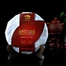Haiwan Lao Tong Zhi Old Comerade Amber Pu-erh Pu'er Tea Cake 2013 357g Ripe