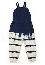 Next Direct size 9 134 (7) Tie Dye Playsuit Romper EUC Jeans