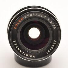 MINT- VOIGTLANDER COLOR-SKOPAREX 35MM F/2.8 PRIME LENS FOR 35MM SLR ROLLEI SL35