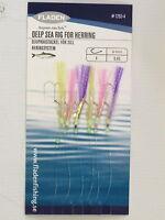6 Packs Lumi Sabiki 6 Hook Size 4 Multicolour Fishing Mackerel Lures Sea Herring