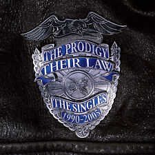 THE PRODIGY THEIR LAW THE SINGLES NEW SEALED DOUBLE 180G SILVER LP IN STOCK