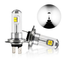 2x 6000K H7 160W High Power LED Xenon White Fog Driving DRL Light Bulb 1500LM