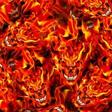 devil FLAME- Hydrographics Dipping Film Water Transfer Printing 0.5X2m FAST SHIP